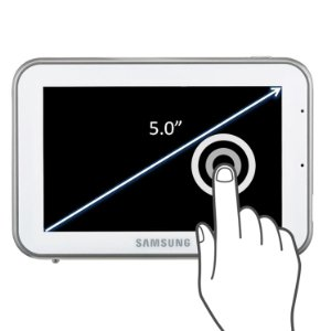 5.0 inch Touch Screen Monitor