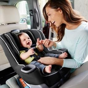 Children are safer rear-facing