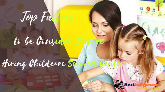 Hiring Childcare Services Center