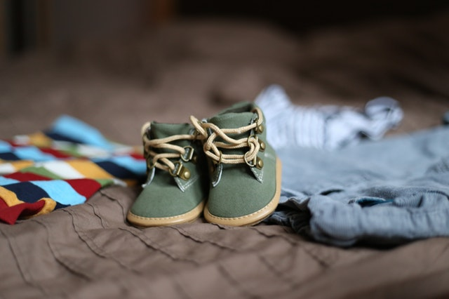 baby boutique clothes with shoes